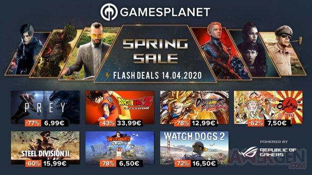 Gamesplanet Spring Sales 14 04 2020