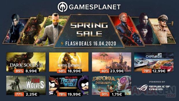 Gamesplanet Spring Sales 16 04 2020