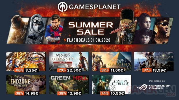 Gamesplanet Summer Sales 01 08 2020