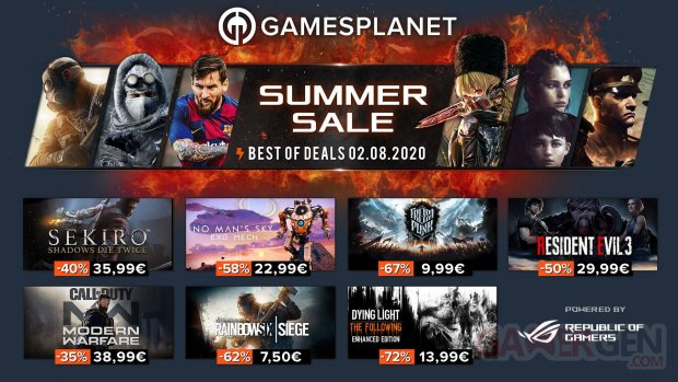 Gamesplanet Summer Sales 02 08 2020