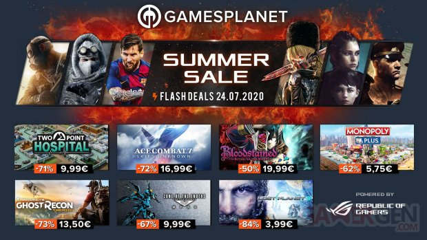 Gamesplanet Summer Sales 24 07 2020