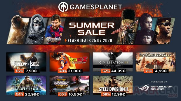 Gamesplanet Summer Sales 25 07 2020