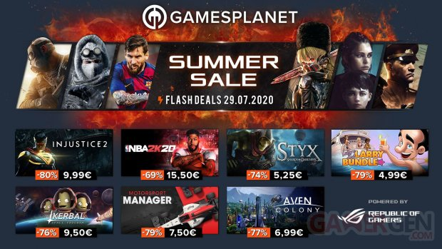 Gamesplanet Summer Sales 29 07 2020