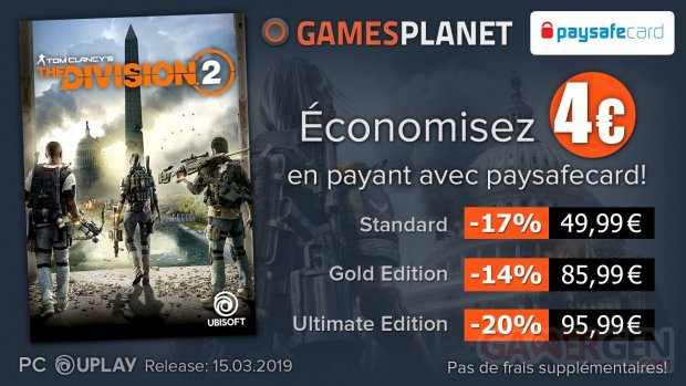 Gamesplanet Ubisoft Division 2