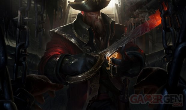 Gangplank LOL League of Legends
