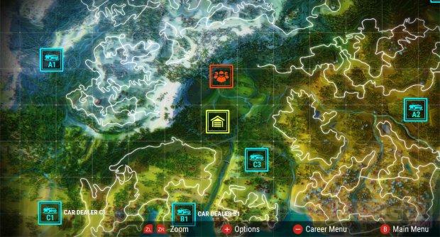 Gear Club Unlimited 2 Octobre 2018 Carte