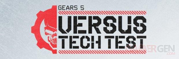 Gears 5 Versus Tech Test logo