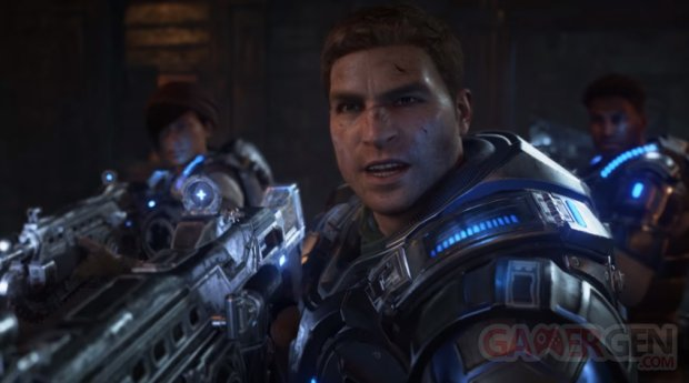 Gears of War 4 head