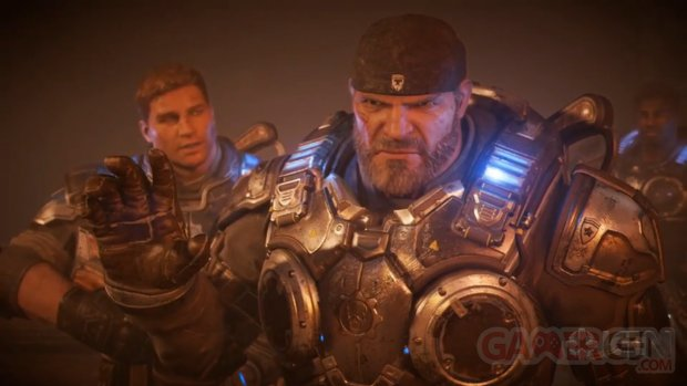 Gears of War 4 Marcus head