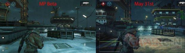 Gears of War 4 multijoueur comparaison image