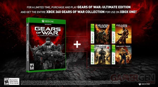 Gears of War Ultimate Edition 04 08 2015 entire collection