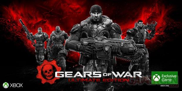 Gears of War Ultimate Edition artwork
