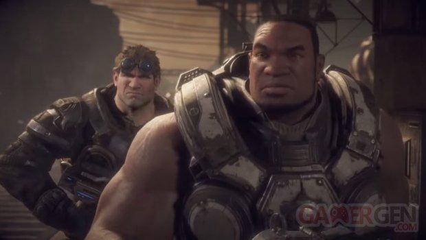 Gears of War Ultimate Edition Cole Train head