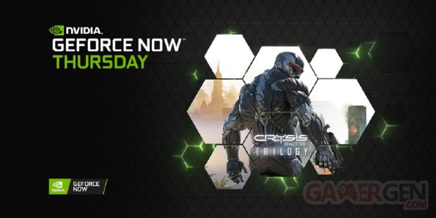 GeForce NOW Crysis Remastered