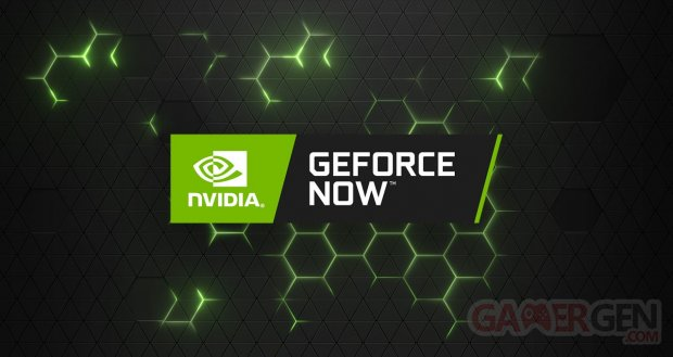 GeForce NOW head banner logo