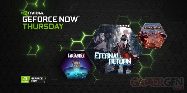 GeForce NOW juillet 2021