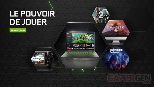 GeForce Now NVIDIA FR