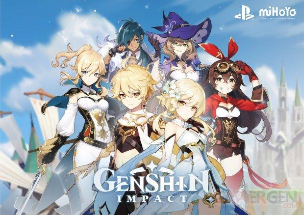 Genshin Impact artwork 01 08 2019
