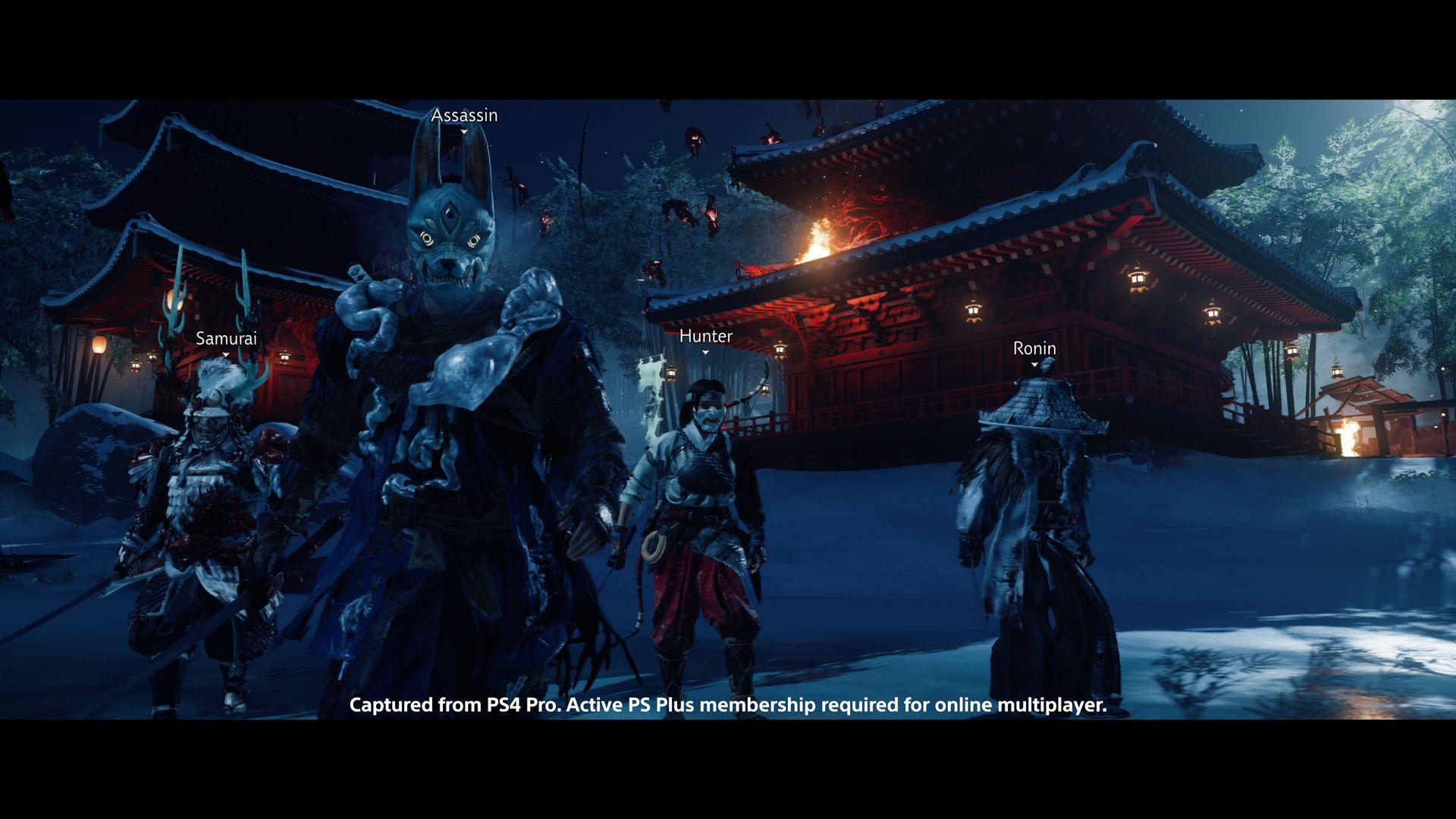 Un nouveau mode jouable en coopération arrive — Ghost of Tsushima