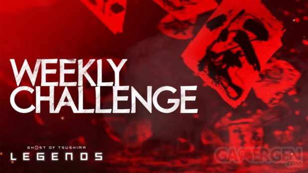 Ghost of Tsushima Legends défis hebdomadaires weekly challenges