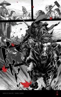 Ghost of Tsushima poster affiche art Takashi Okazaki 1