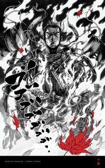 Ghost of Tsushima poster affiche art Takashi Okazaki 2