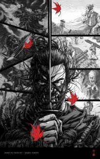 Ghost of Tsushima poster affiche art Takashi Okazaki 3