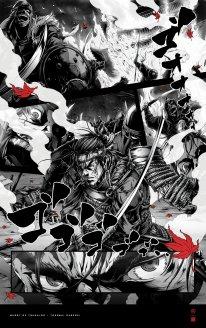 Ghost of Tsushima poster affiche art Takashi Okazaki 4