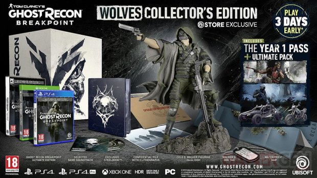 Ghost Recon Breakpoint Collection Wolves