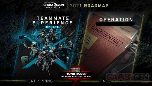 Ghost Recon Breakpoint Roadmap 2021