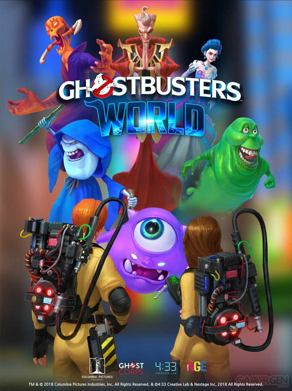 Ghostbusters World Key Art