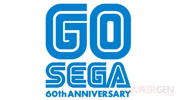 GO SEGA 60th Anniversary logo