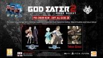 God Eater Bonus Précommande Europe Téléchargement