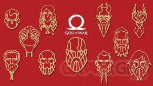 God of War avatars PS4 15 04 2019
