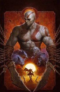 God of War Fallen God art.