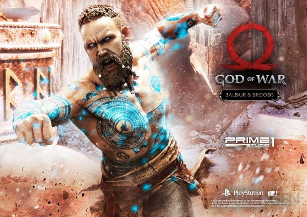 God of War figurine statuette Prime 1 Studio Baldur 01 12 07 2019
