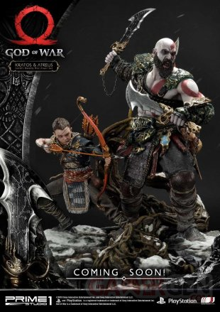 God of War figurine statuette Prime 1 Studio Kratos Atreus 01 12 07 2019