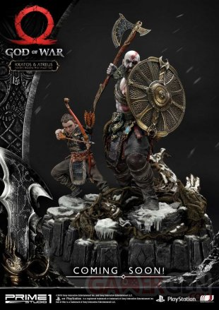 God of War figurine statuette Prime 1 Studio Kratos Atreus 02 12 07 2019