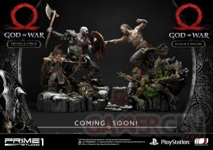 God of War figurine statuette Prime 1 Studio Kratos Atreus 03 12 07 2019