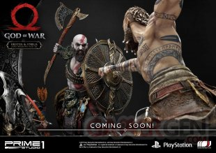 God of War figurine statuette Prime 1 Studio Kratos Atreus 04 12 07 2019