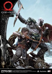 God of War figurine statuette Prime 1 Studio Kratos Atreus 08 17 11 2019