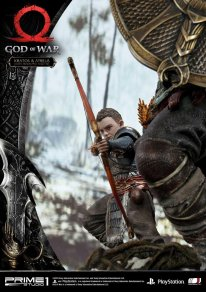 God of War figurine statuette Prime 1 Studio Kratos Atreus 12 17 11 2019