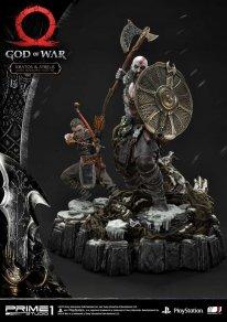 God of War figurine statuette Prime 1 Studio Kratos Atreus 14 17 11 2019