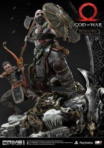 God of War figurine statuette Prime 1 Studio Kratos Atreus 15 17 11 2019