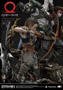 God of War figurine statuette Prime 1 Studio Kratos Atreus 23 17 11 2019