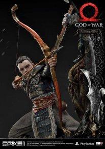 God of War figurine statuette Prime 1 Studio Kratos Atreus 26 17 11 2019