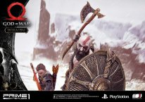 God of War figurine statuette Prime 1 Studio Kratos Atreus 30 17 11 2019
