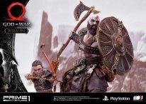 God of War figurine statuette Prime 1 Studio Kratos Atreus 31 17 11 2019