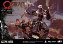 God of War figurine statuette Prime 1 Studio Kratos Atreus 36 17 11 2019