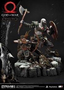 God of War figurine statuette Prime 1 Studio Kratos Atreus 58 17 11 2019
